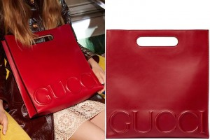 A Closer Look At The Replica Gucci Xl Red Leather Tote Bag