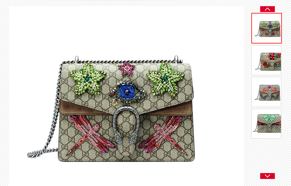 The new aesthetics replica gucci dionysus blooms limited edition bags