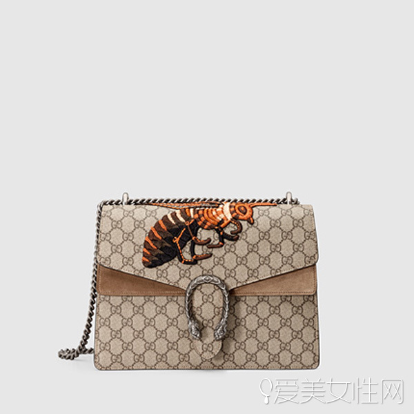 62698267e68d Best Replica Gucci Dionysus GG Supreme embroidered shoulder bag ...