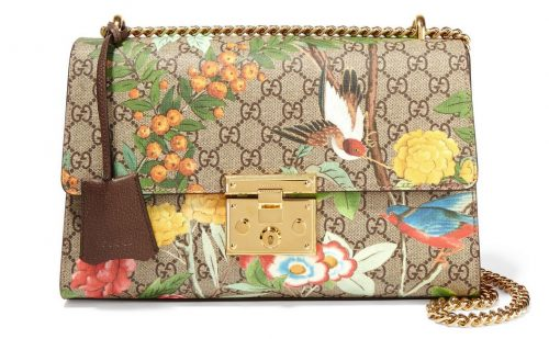 New Gucci Padlock Printed Shoulder Bag Replica For Sale