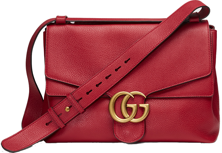 Best gucci marmont leather shoulder bag replica