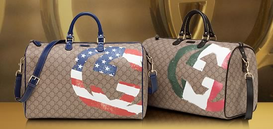 Best Quality Gucci GG Flag Bags Replica Collection